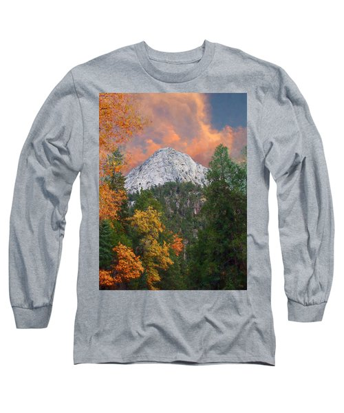 Tahquitz Peak - Lily Rock Painted Version Long Sleeve T-Shirt