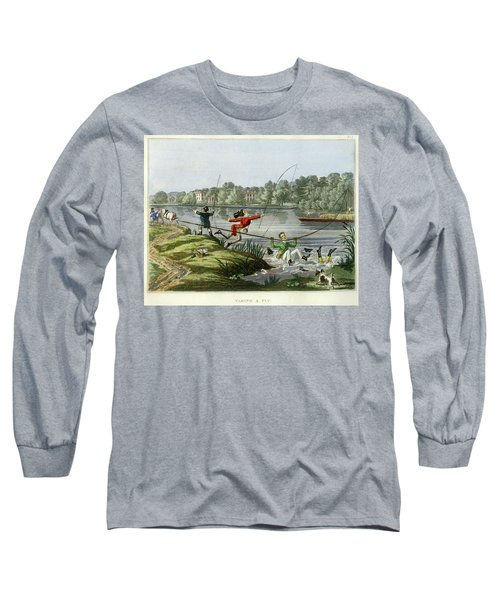Taking A Fly Long Sleeve T-Shirt