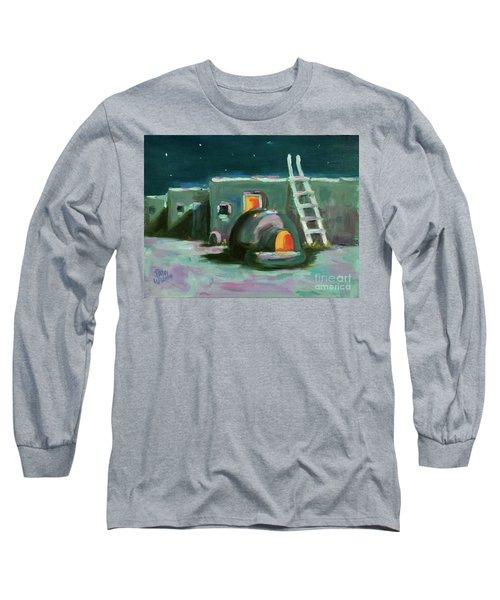 Taos At Night Long Sleeve T-Shirt