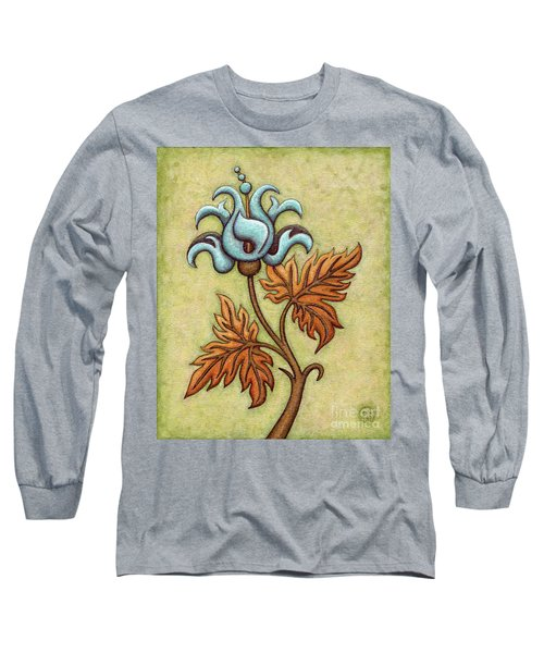Tapestry Flower 2 Long Sleeve T-Shirt