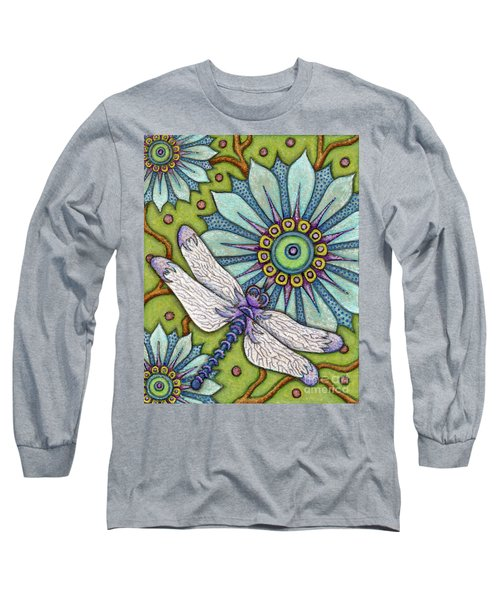 Tapestry Dragonfly Long Sleeve T-Shirt
