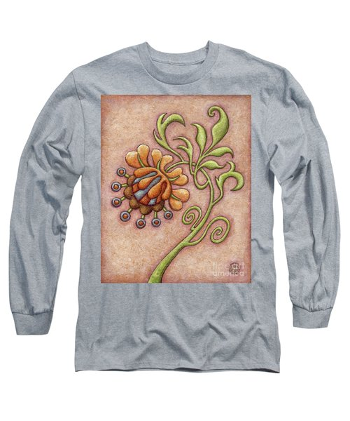 Tapestry Flower 10 Long Sleeve T-Shirt