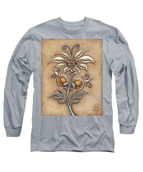 Tapestry Flower 9 Long Sleeve T-Shirt