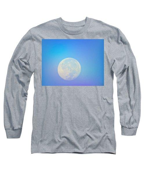 Taurus Almost Full Moon Blend Long Sleeve T-Shirt