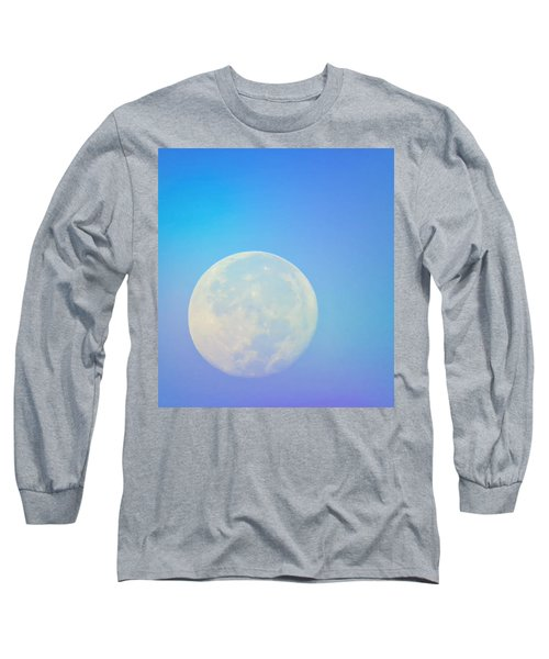 Taurus Almost Full Moon Blend Long Sleeve T-Shirt