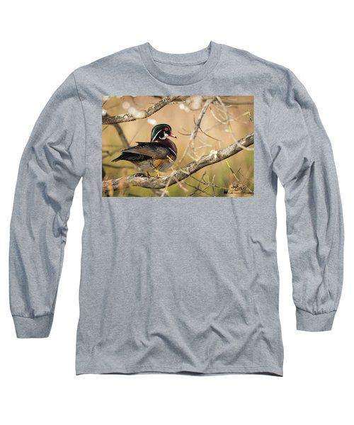 Texas Wood Duck Long Sleeve T-Shirt