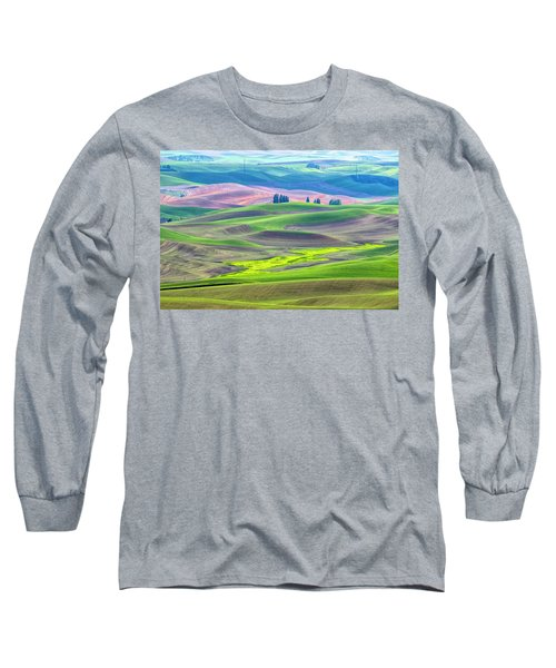The Color Palette Of The Palouse Long Sleeve T-Shirt