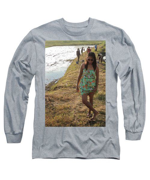 The Dancing Girl Long Sleeve T-Shirt