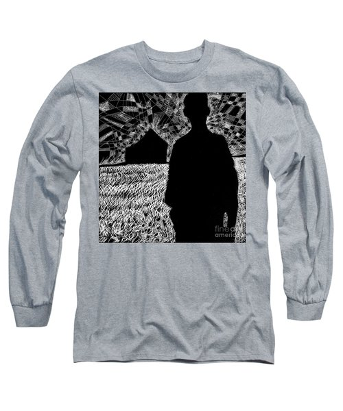 The Delta. Long Sleeve T-Shirt