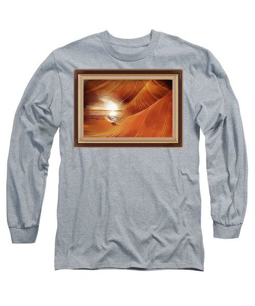 The Desert And The Tide Fantasy Long Sleeve T-Shirt
