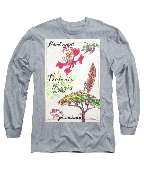 The Flamboyant Tree Long Sleeve T-Shirt