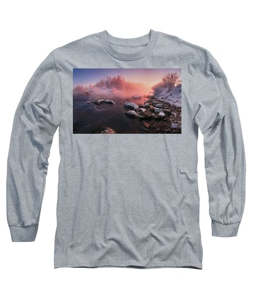 The Fragment Of Frosty Morning Long Sleeve T-Shirt