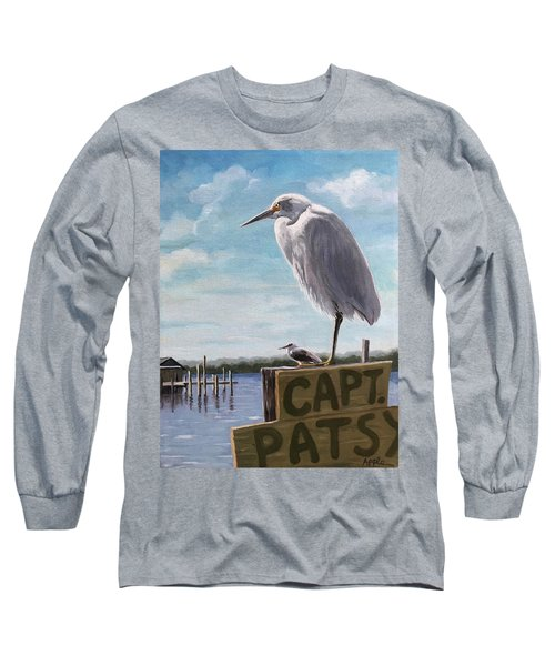 The Guardians - Florida Oil Painting Long Sleeve T-Shirt