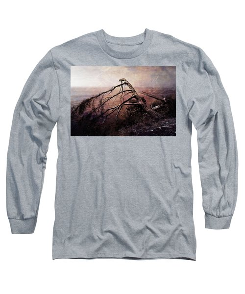 Long Sleeve T-Shirt featuring the photograph The Invisible Force by Randi Grace Nilsberg