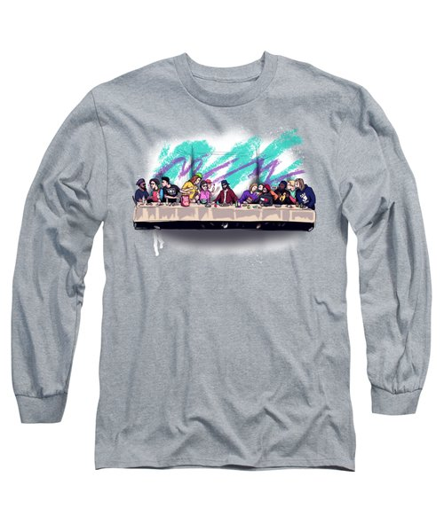 The Last 90s Supper Long Sleeve T-Shirt