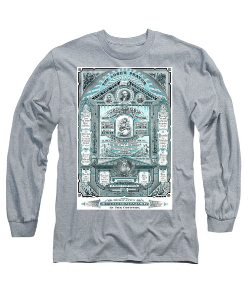 The Lords Prayer And The Ten Commandments Long Sleeve T-Shirt