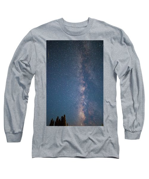 The Milky Way In Arizona Long Sleeve T-Shirt