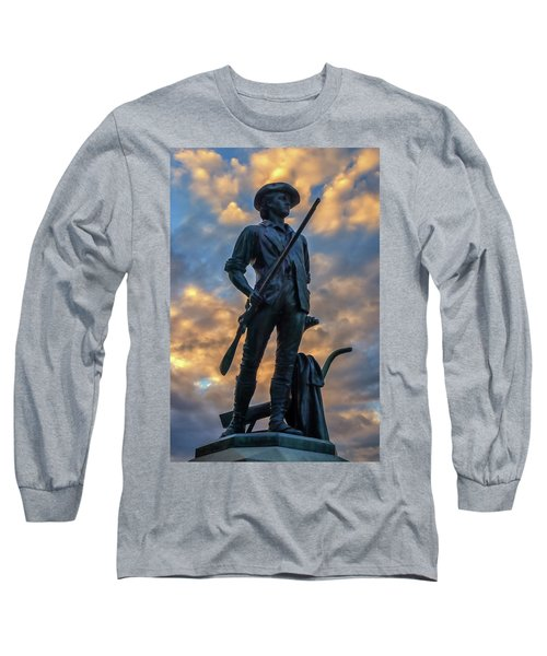 The Minute Man Long Sleeve T-Shirt