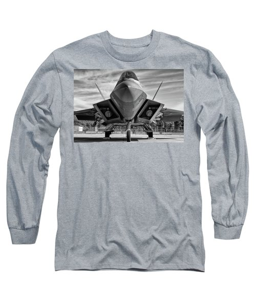 The Raptor Waits Long Sleeve T-Shirt