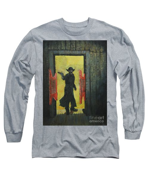 The Red Saloon Doors.....what Next Long Sleeve T-Shirt