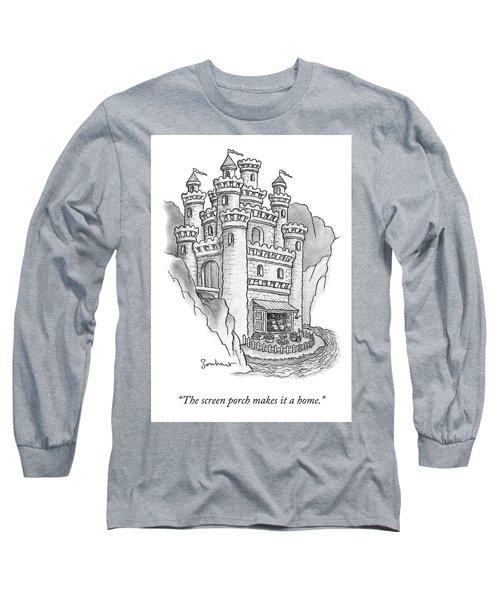 The Screen Porch Long Sleeve T-Shirt