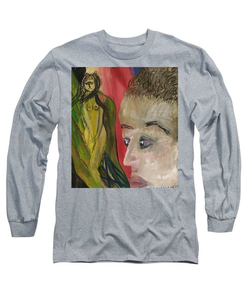 The Sexy Man With The Watery Blue Eyes Long Sleeve T-Shirt