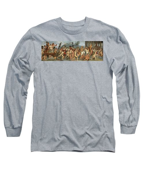The Triumph Of Bacchus Long Sleeve T-Shirt