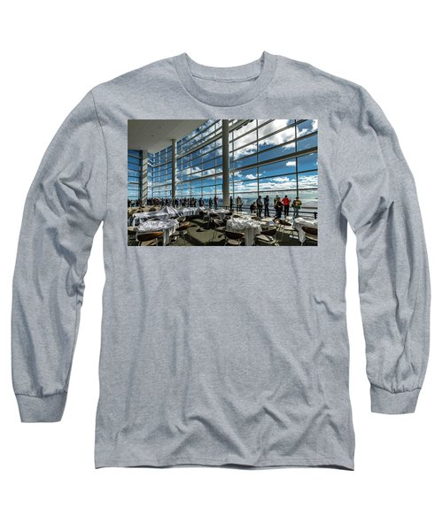 Long Sleeve T-Shirt featuring the photograph The View From 32 by Randy Scherkenbach