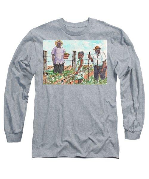 The Washington's - Our Neighbors On The Farm Long Sleeve T-Shirt