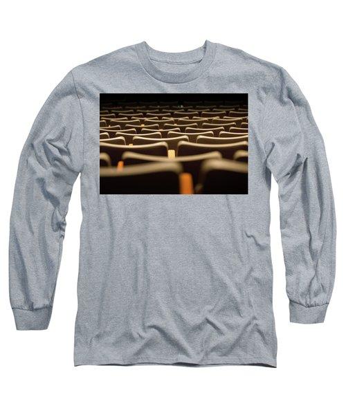 Theater Seats Long Sleeve T-Shirt