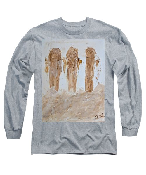 Three Little Muddy Angels Long Sleeve T-Shirt