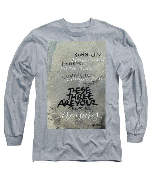 Three Treasures Long Sleeve T-Shirt