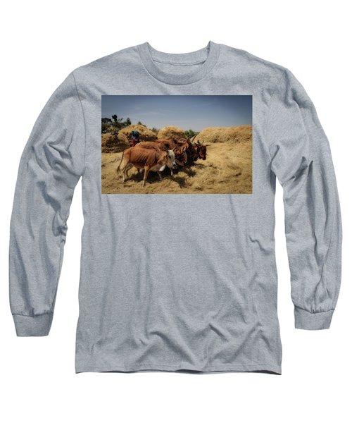 Threshing Long Sleeve T-Shirt