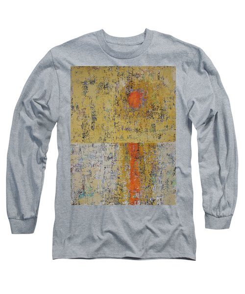 Tidepool Reflection Original Painting Sold Long Sleeve T-Shirt