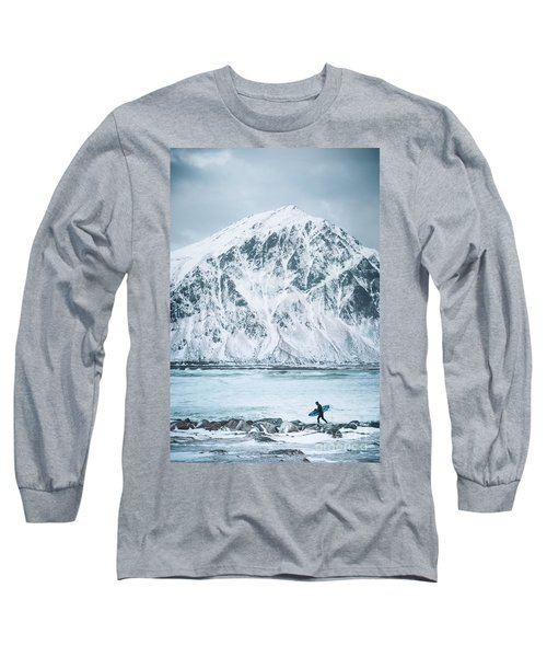 To Ride The Arctic Waves Long Sleeve T-Shirt