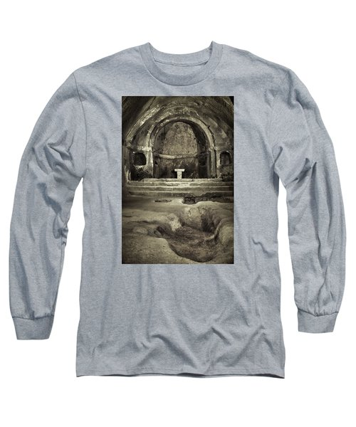 Tomb And Altar In The Monastery Of San Pedro De Rocas Long Sleeve T-Shirt