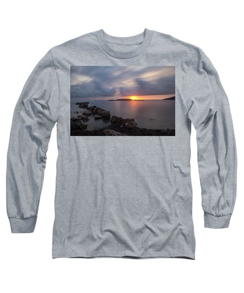Total Calm In An Ibiza Sunrise Long Sleeve T-Shirt