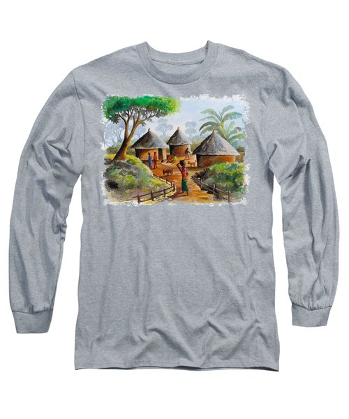Traditional Village Long Sleeve T-Shirt