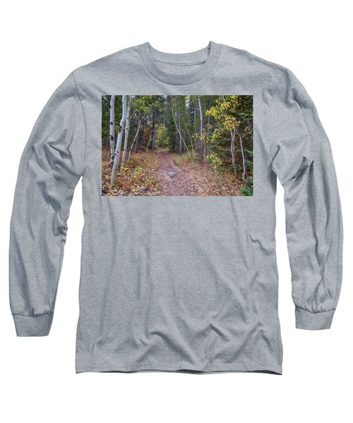 Long Sleeve T-Shirt featuring the photograph Trailhead by James BO Insogna