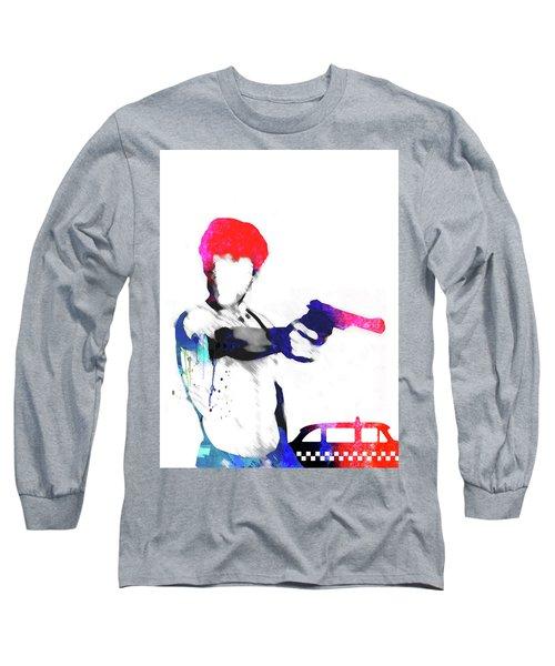 Travis Watercolor Long Sleeve T-Shirt