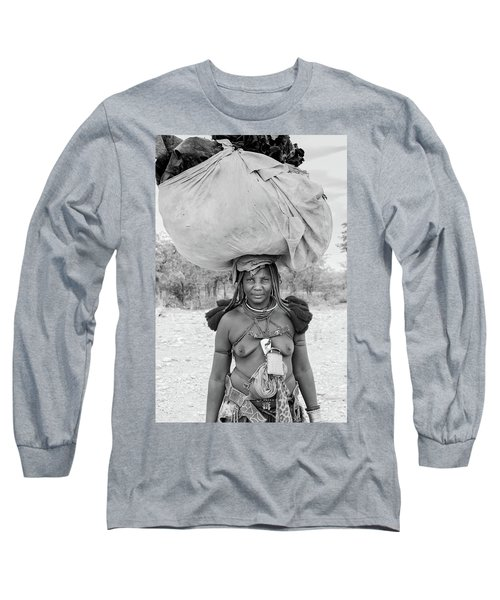 Tribes Portrait Long Sleeve T-Shirt