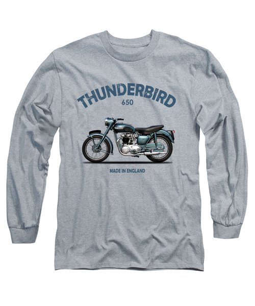 Triumph Thunderbird 1955 Long Sleeve T-Shirt