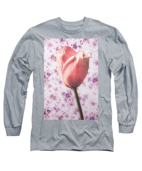 Long Sleeve T-Shirt featuring the photograph Tulip Contrasted by Michael Arend