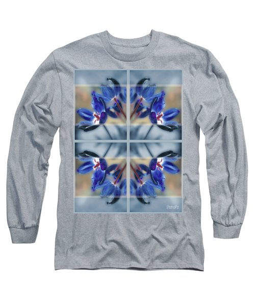 Tulips Of Stained Glass Long Sleeve T-Shirt