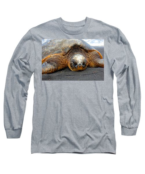 Turtle Rest Stop Long Sleeve T-Shirt