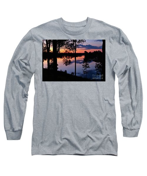 Twilight By The Lake Long Sleeve T-Shirt