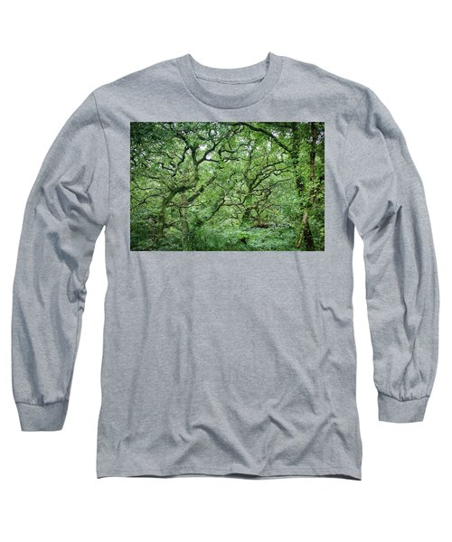 Twisted Forest Full Color Long Sleeve T-Shirt