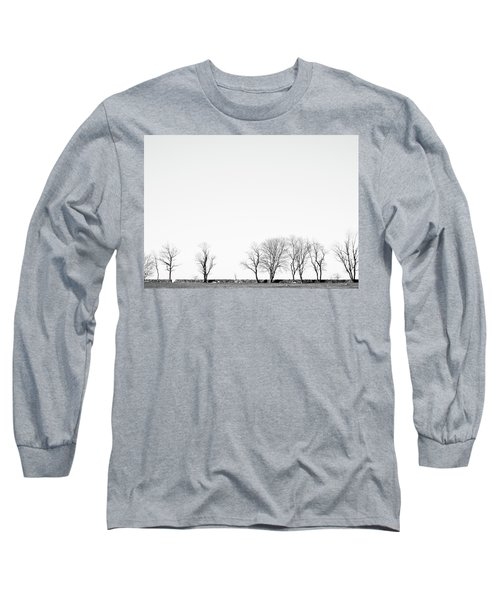Under A Winter Sky Long Sleeve T-Shirt
