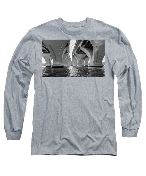 Under The Woodrow Wilson Bridge Long Sleeve T-Shirt