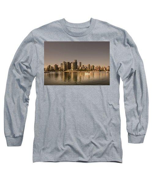 Vancouver Golden Light Hour Long Sleeve T-Shirt